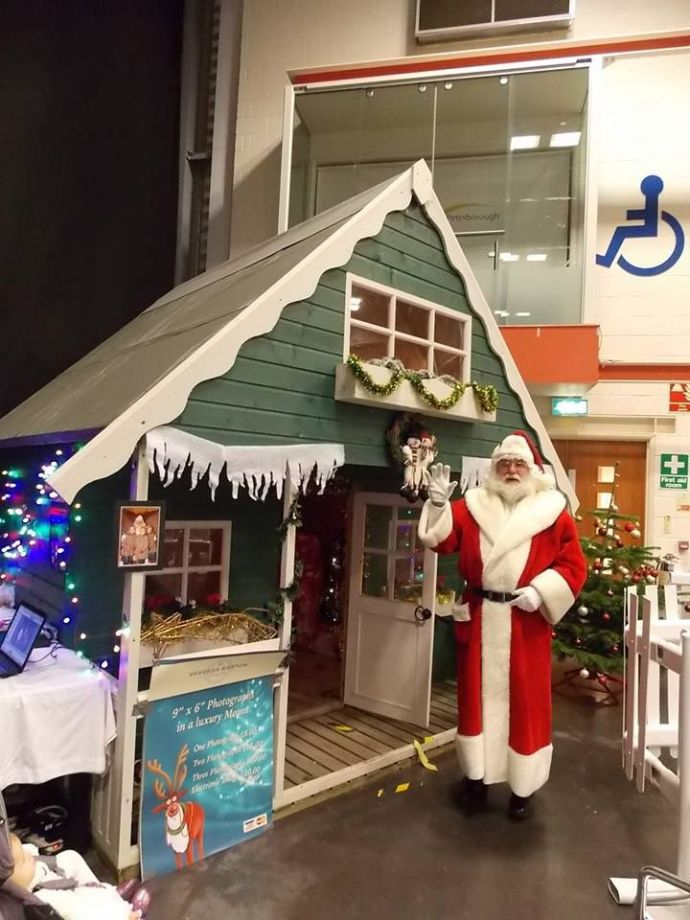 play house, wendy house, santas grotto at Peterborough, east of england show ground 2013